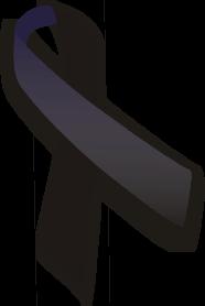 アウェアネス,リボン,Awareness,Ribbon,ブラック,お葬式