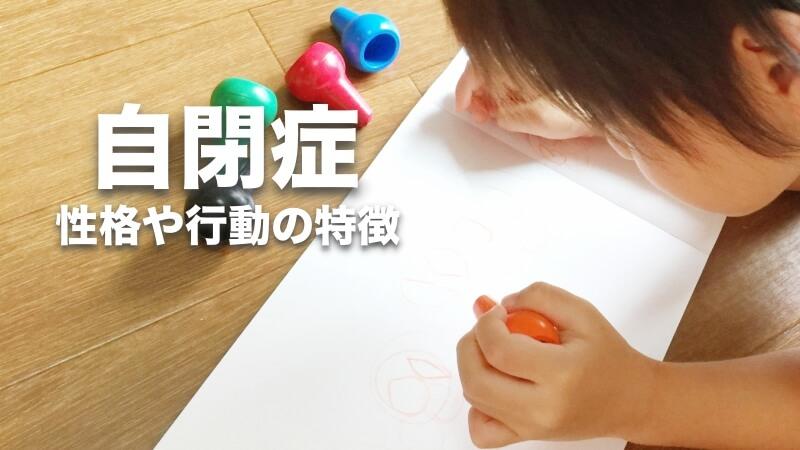 自閉症,性格,特徴,autism,目線,言葉,スペクトラム,重度,軽度,パズル,puzzle